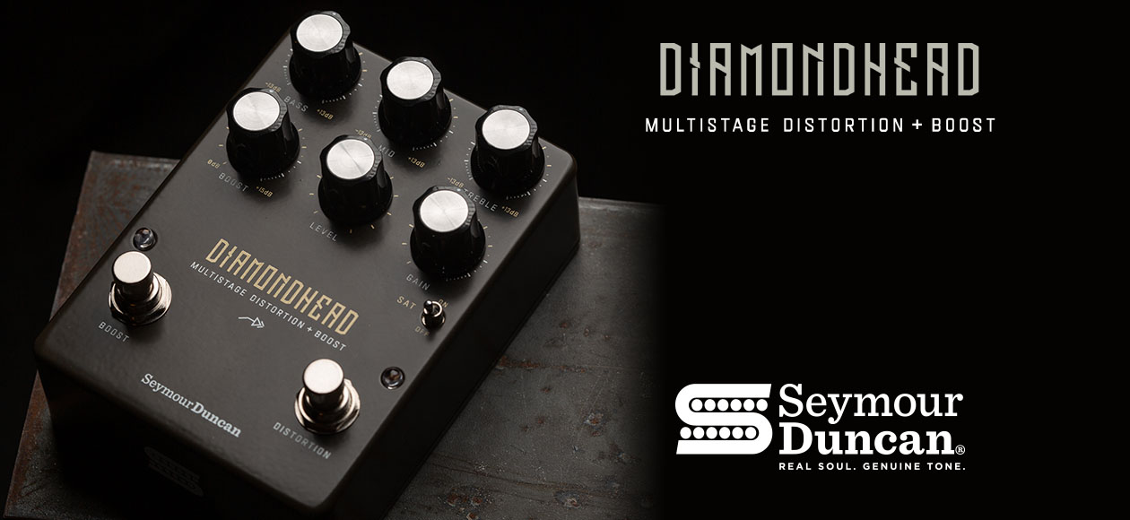 Captures the tone and feel of a hot-rodded tube amp being pushed by a drive or boost pedal – the guitar sound that defined classic 70s and 80s Metal and Hard Rock.