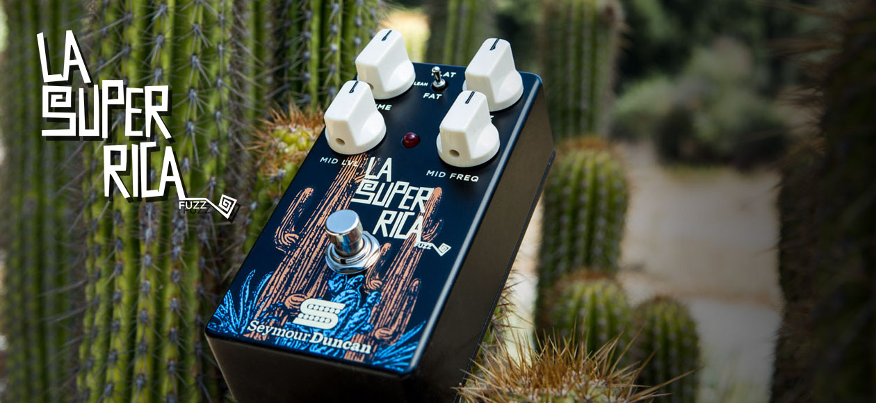 The new fuzz pedal from Seymour Duncan