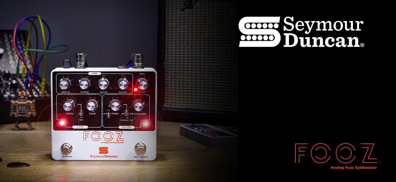 Fuzz, modulation and control — with an all analogue signal-path, designed to synthesize the ultimate fuzz tone.