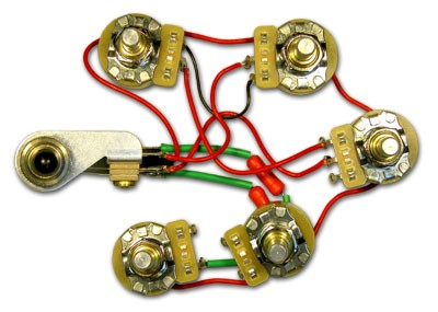 Rickenbacker Part 00202 - 5 Control Harness Assembly
