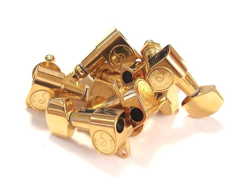 Rickenbacker Part 00535 - M6 Machine Head Set Gold