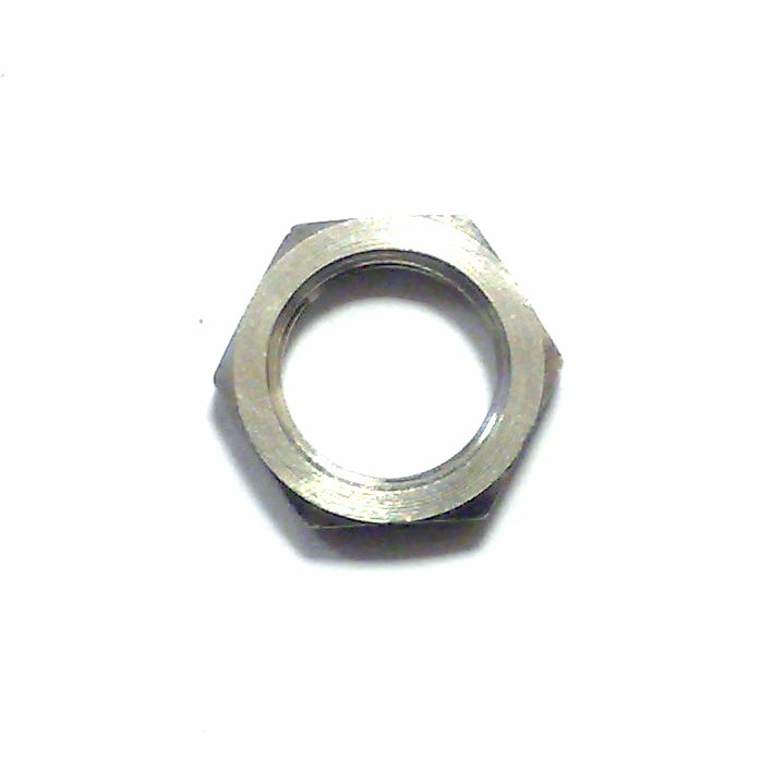 Rickenbacker Part 06000 - Chrome Hex Nut For Jack Socket or Pots