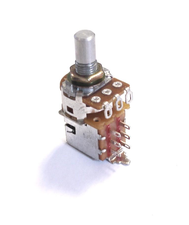 Rickenbacker Part 07346 - 330K Potentiometer Push/Pull Switch