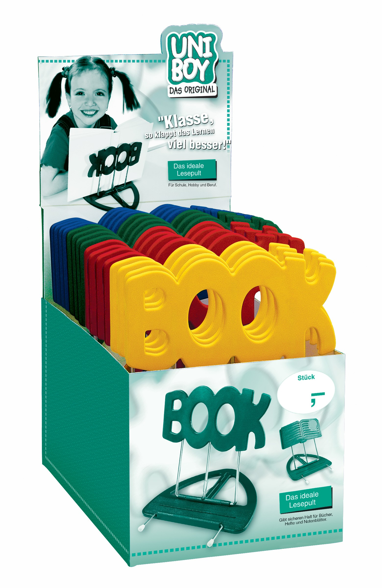 "Konig & Meyer 12440 Uni-Boy ""Book"" Stands - Mixed Display Pack of 22"