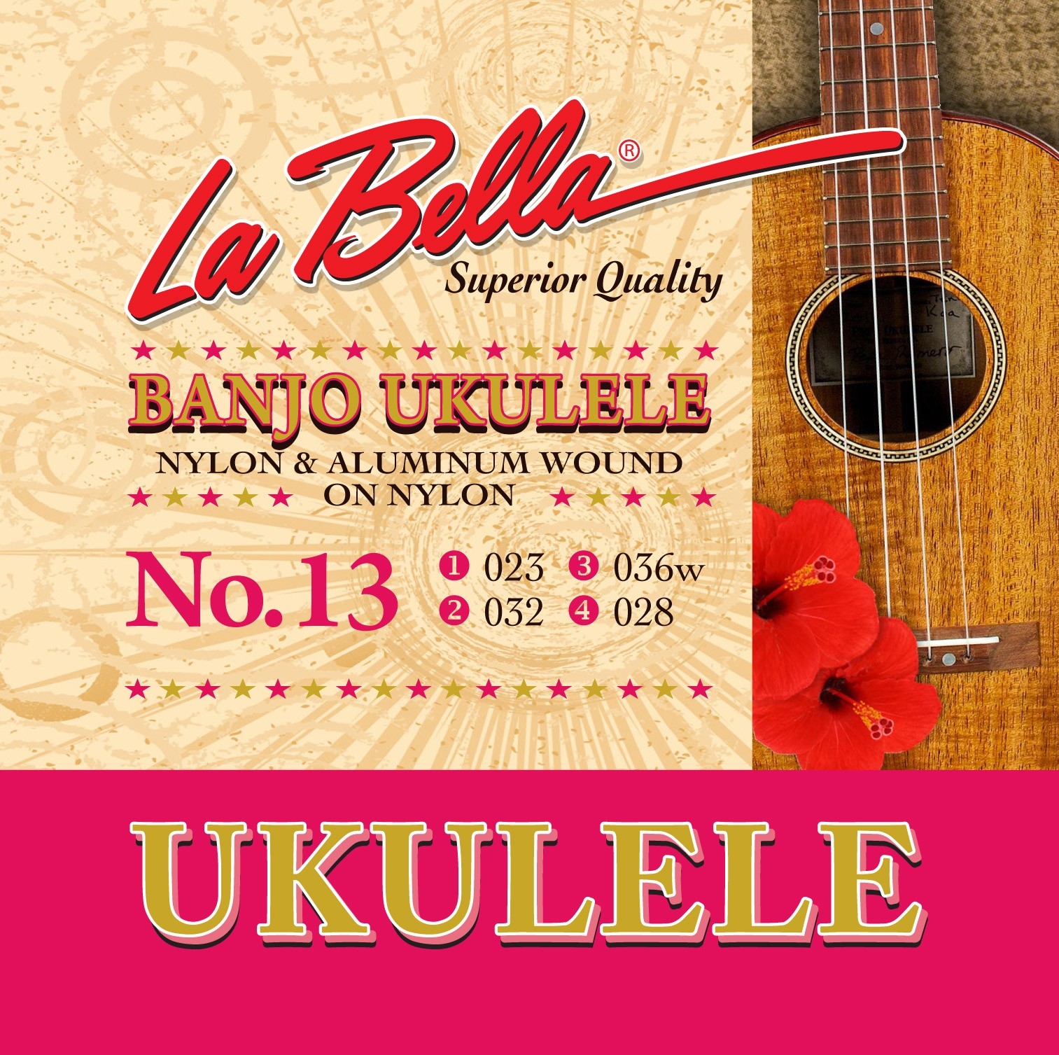 La Bella Ukulele Strings - Uke Pro Series