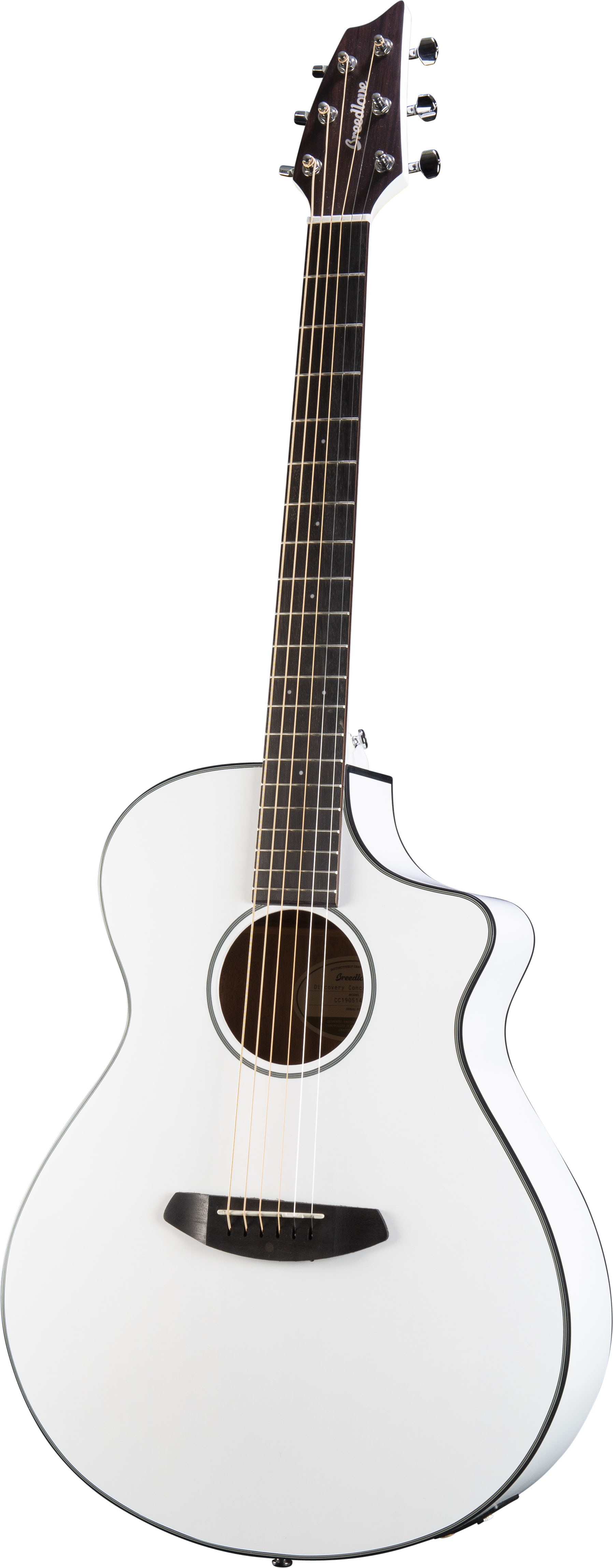 Breedlove Discovery Concert Satin White CE - Limited Edition