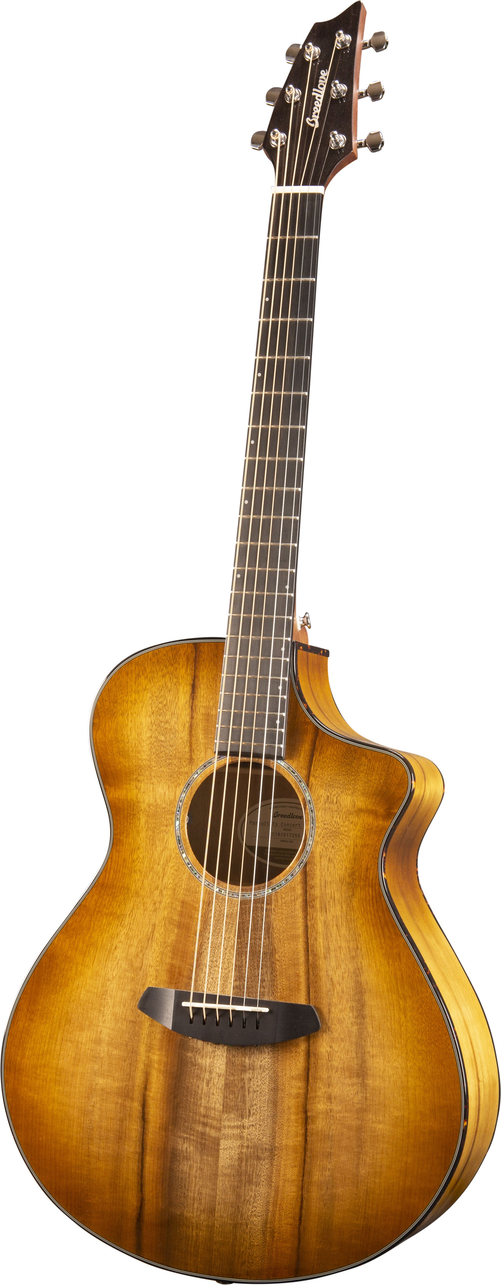 Breedlove Pursuit Exotic Concert Prairie Burst CE