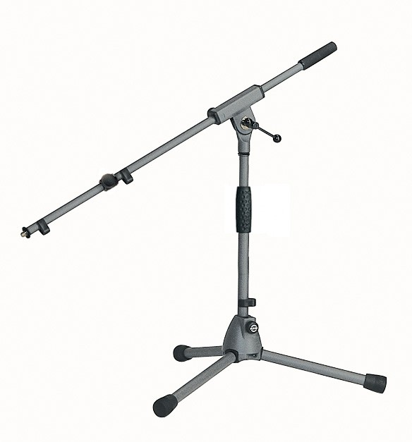 "Konig & Meyer 25900 ""Soft-Touch"" Microphone Stand - Grey"