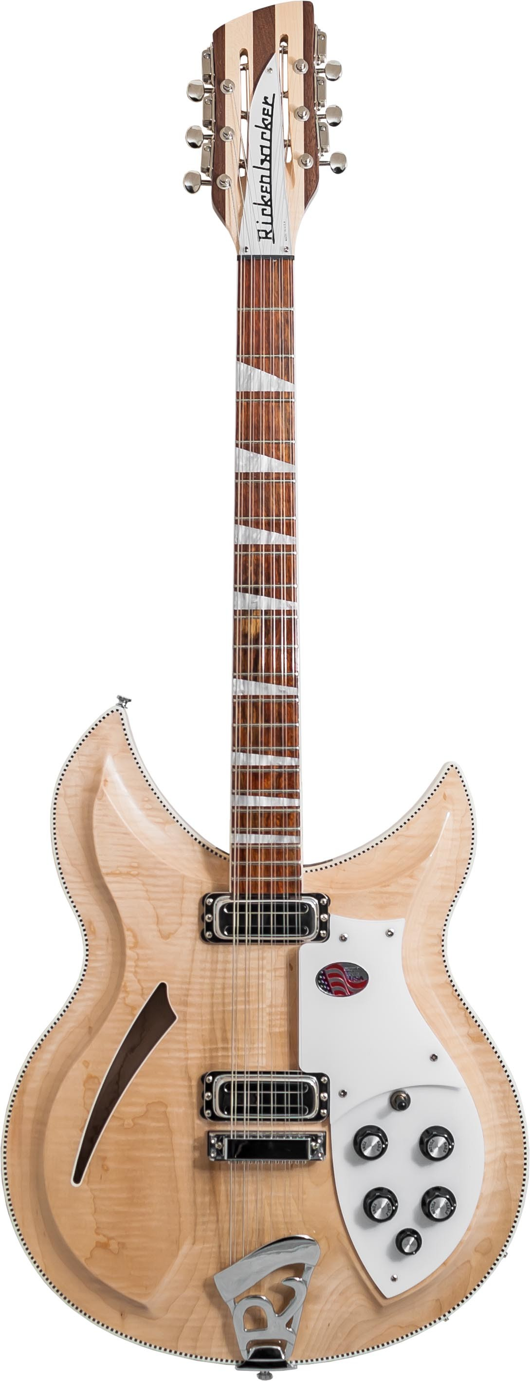 Rickenbacker 381/12V69 - Mapleglo