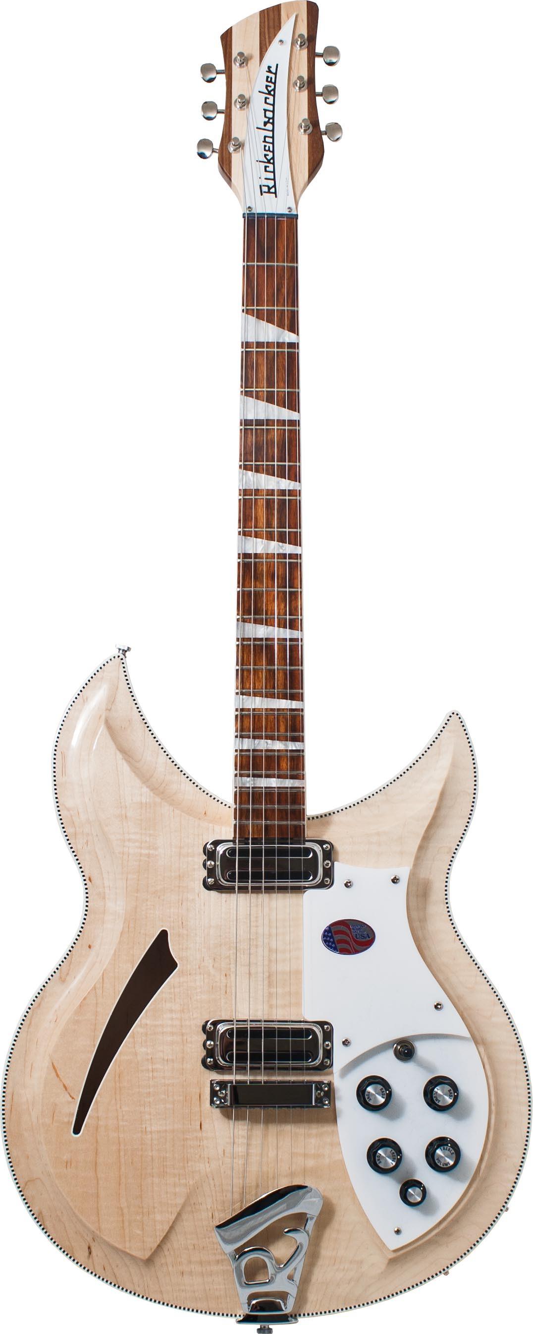Rickenbacker 381V69 - Mapleglo
