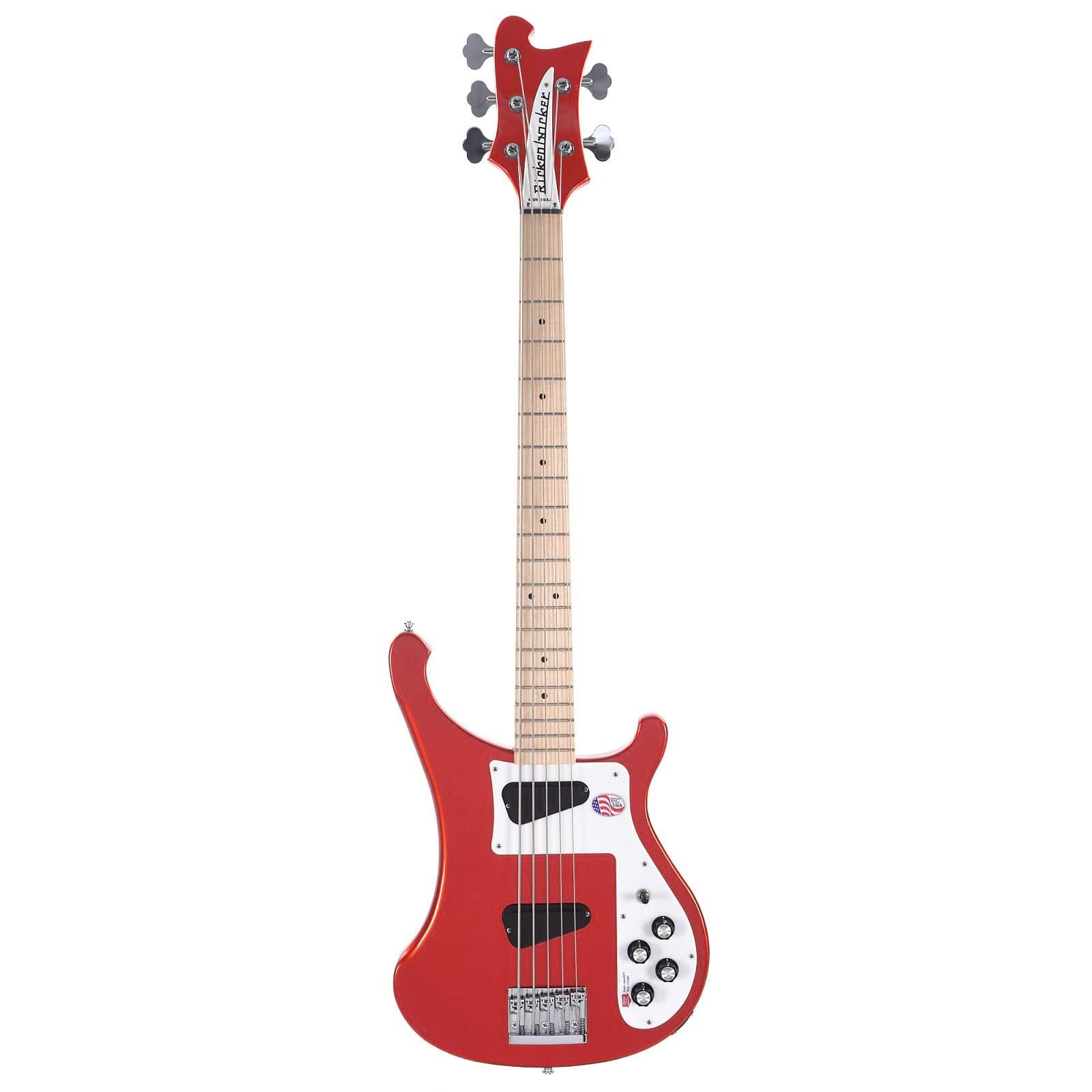 Rickenbacker 4003S5 5-String Bass - Limited Edition Pillar Box Red