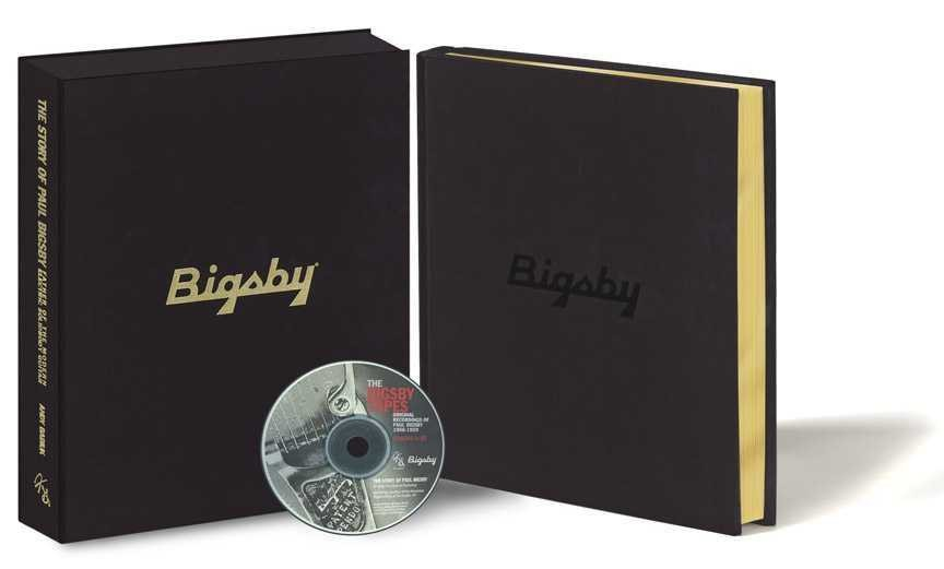 Bigsby Book - Leatherbound Hardback Collectors Edition