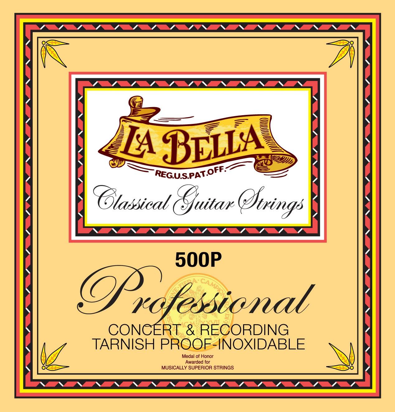 La Bella Classical Guitar Strings - Professional Series