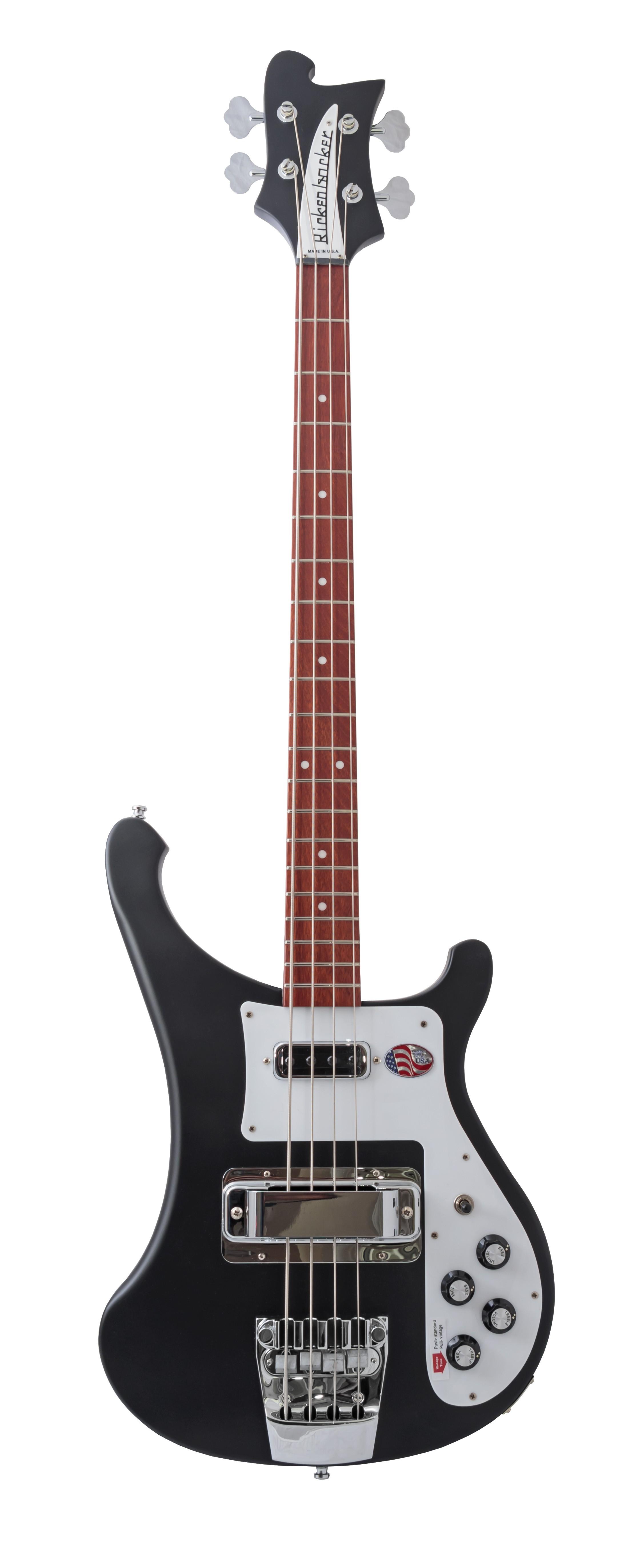 Rickenbacker 4003S Bass - Matte Black