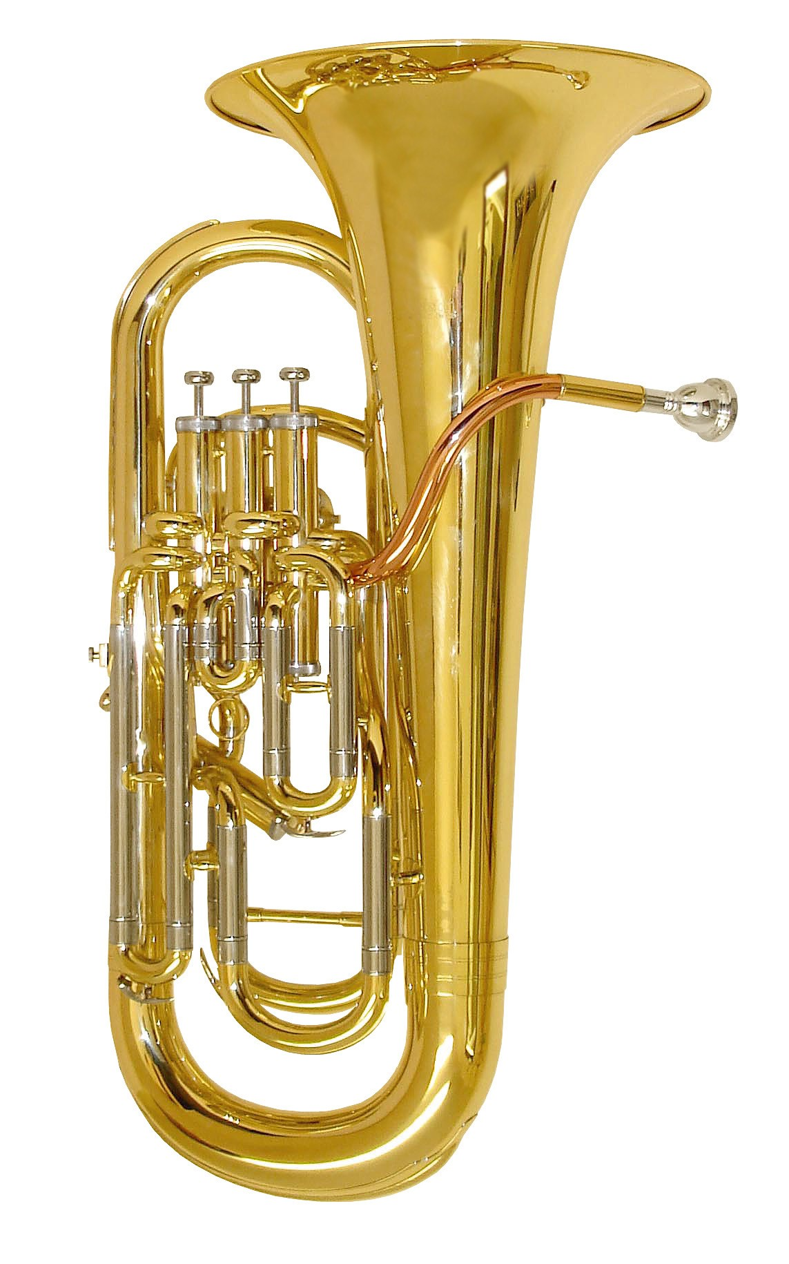 Rosetti Series 7 4-Valve (3+1) Compensated Bb Euphonium Outfit - Lacquer