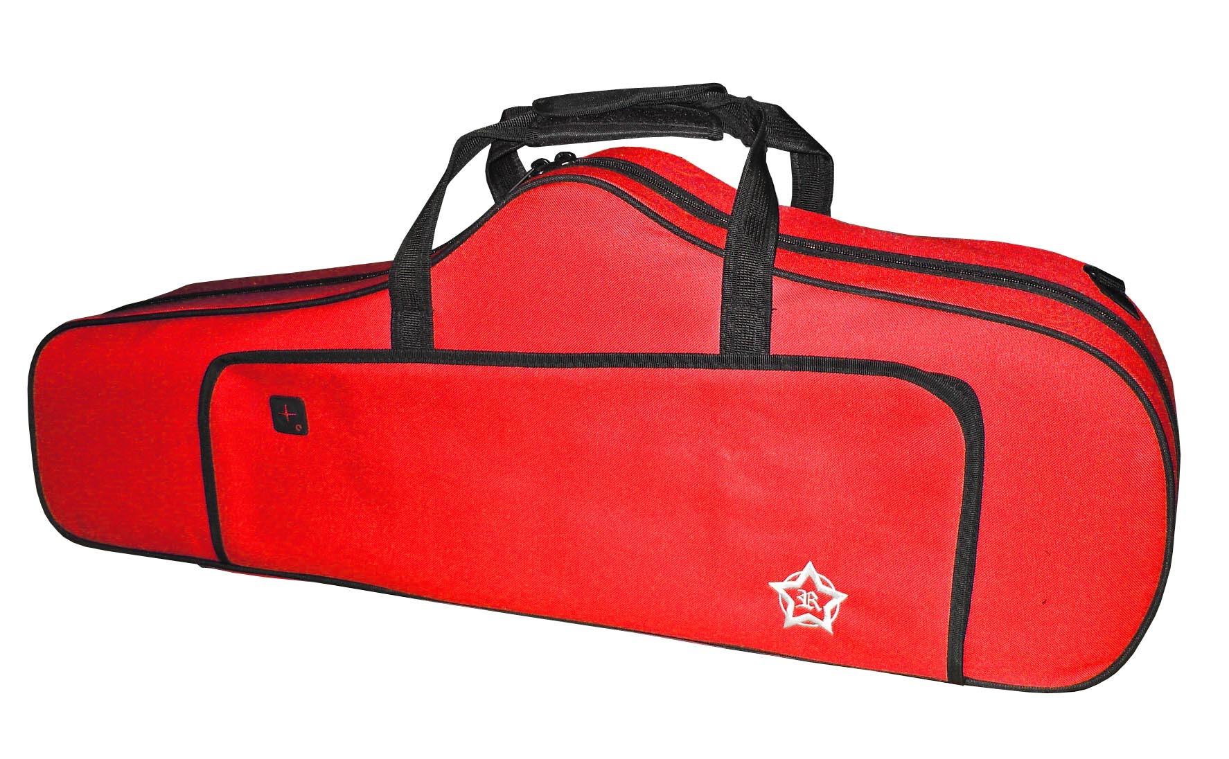 Rosetti Tenor Saxophone Bag - Red