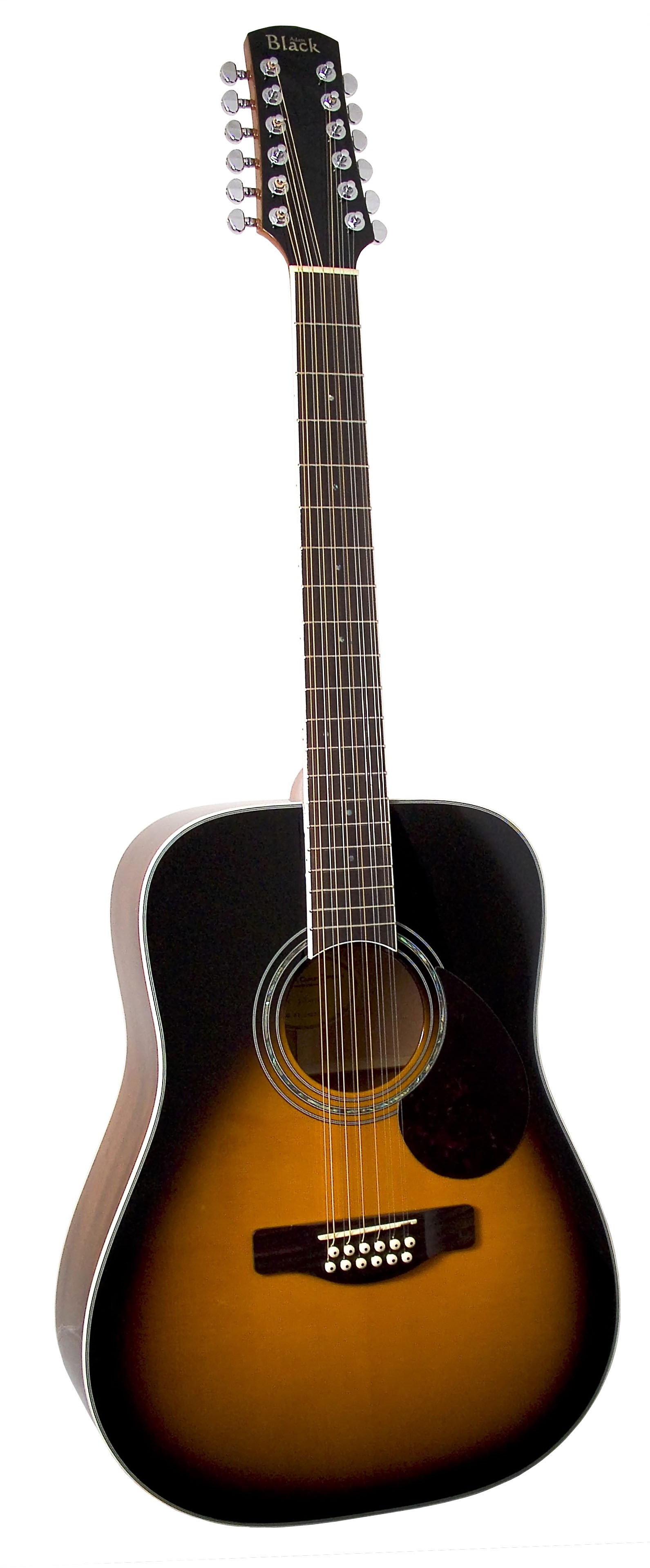 Adam Black S-5/12 12 String - Vintage Sunburst