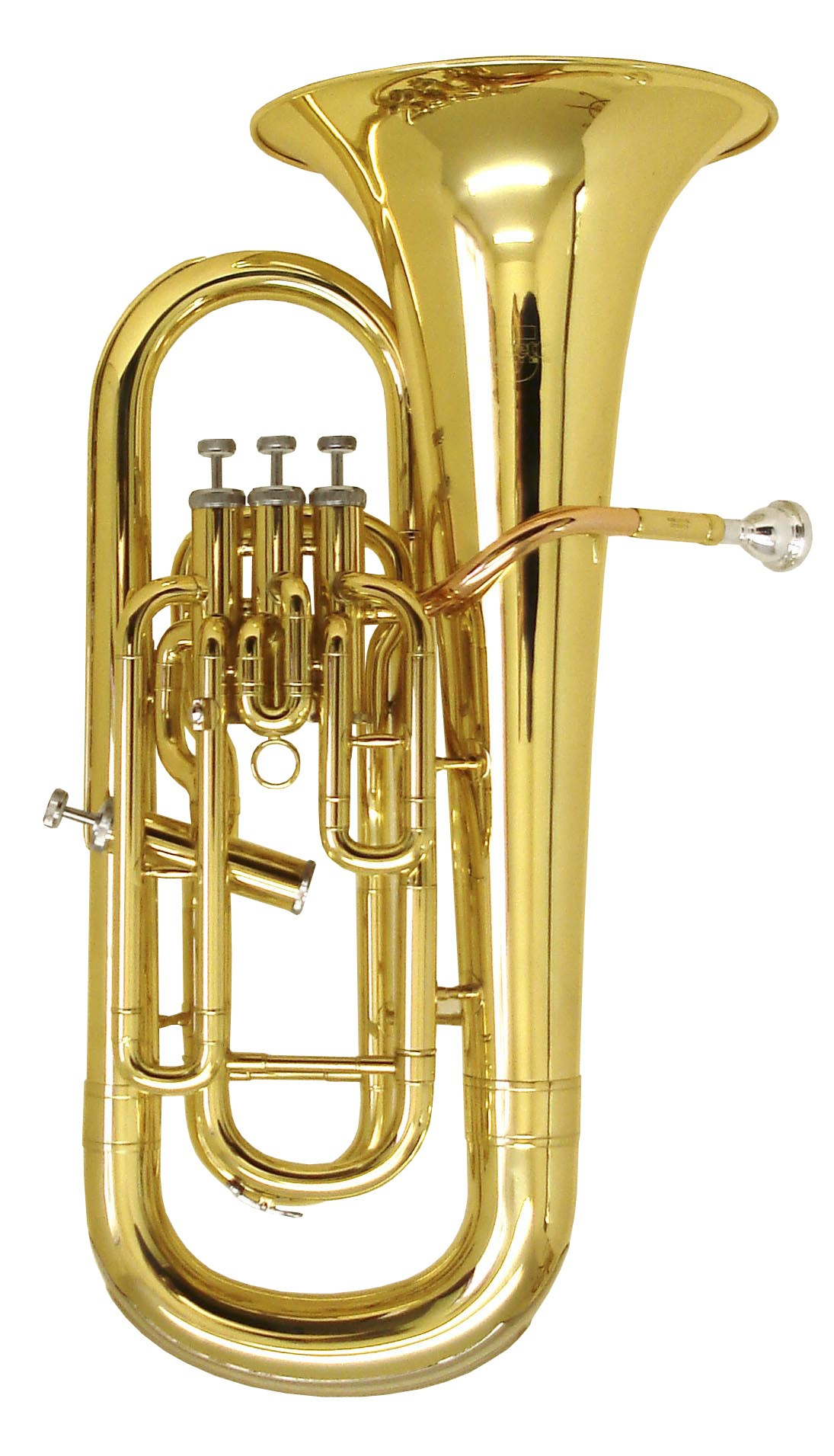 Rosetti Series 5 4-Valve (3+1) Bb Euphonium Outfit - Lacquer