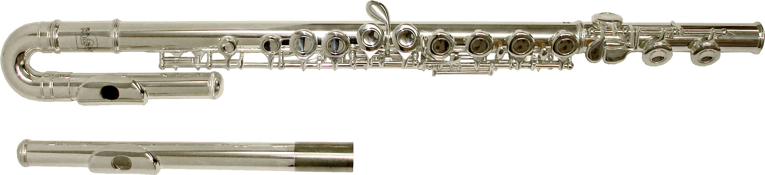 Rosetti Series 5 Curved/Straight Flute Outfit - Silver Plated