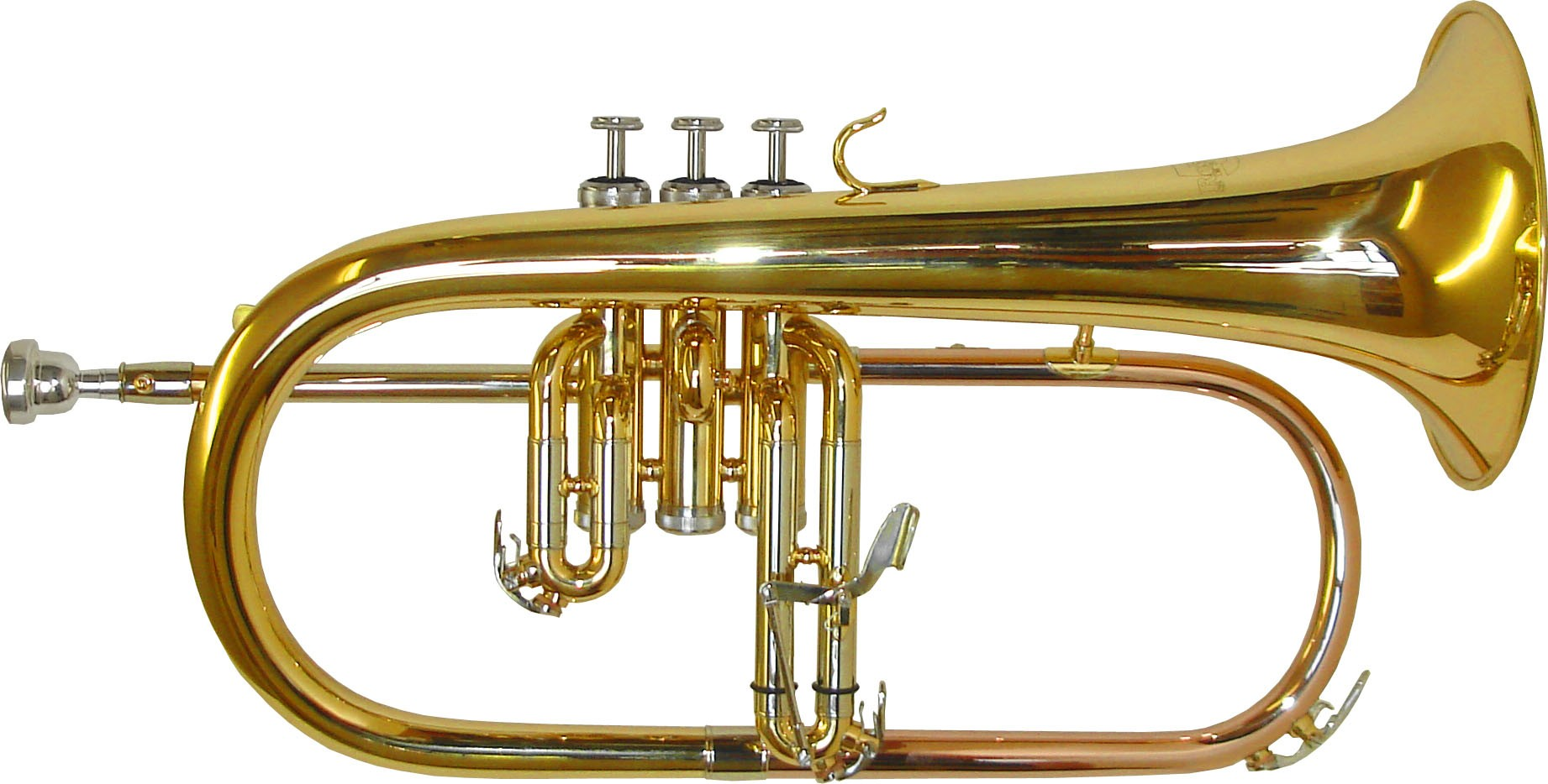 Rosetti Series 5 Flugel Horn Outfit - Lacquer