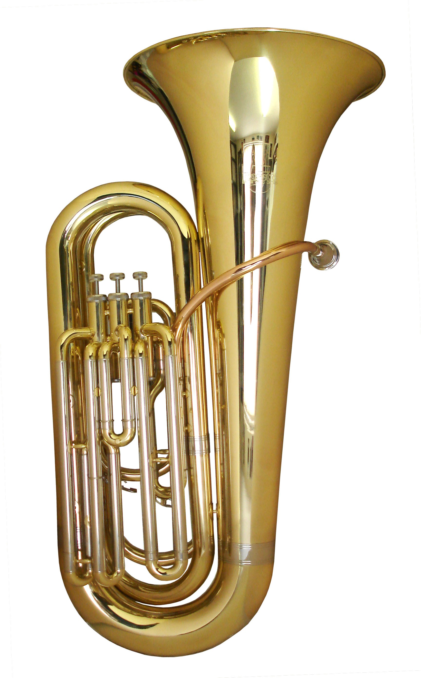 Rosetti Series 5 Compact 3-Valve Eb Tuba Outfit - Lacquer
