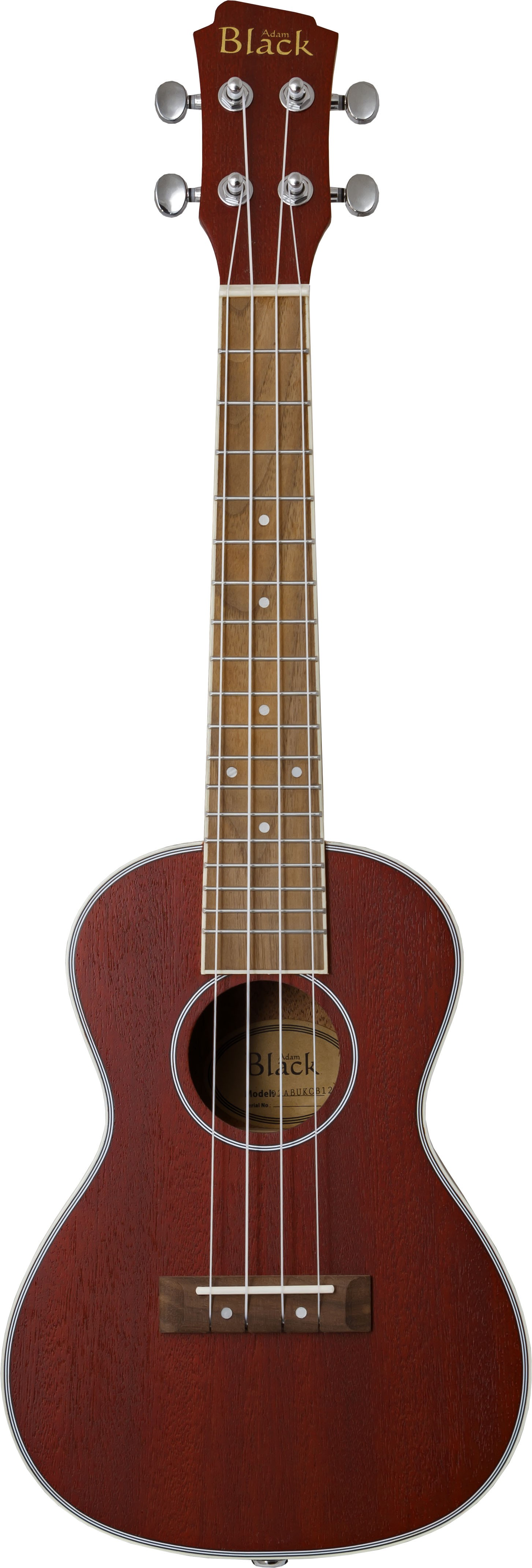 Adam Black CB120 Electro Concert Ukulele - Wine Red