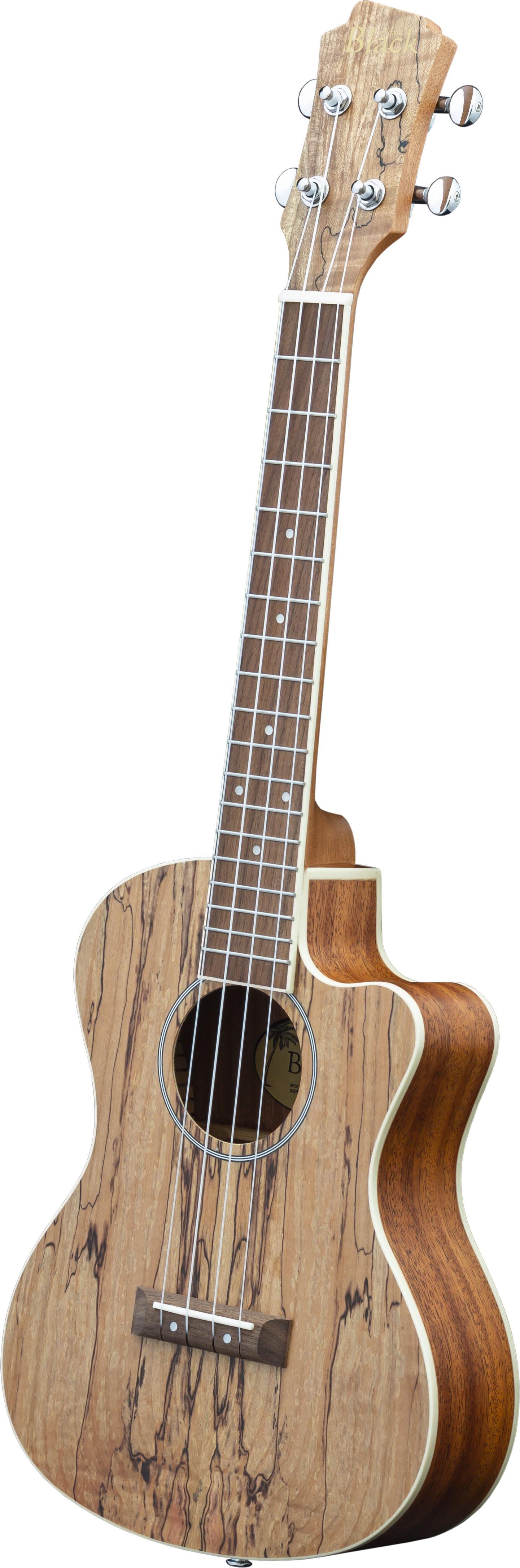 Adam Black Exotic Wood Series Tenor CE Ukulele - Spalted Maple