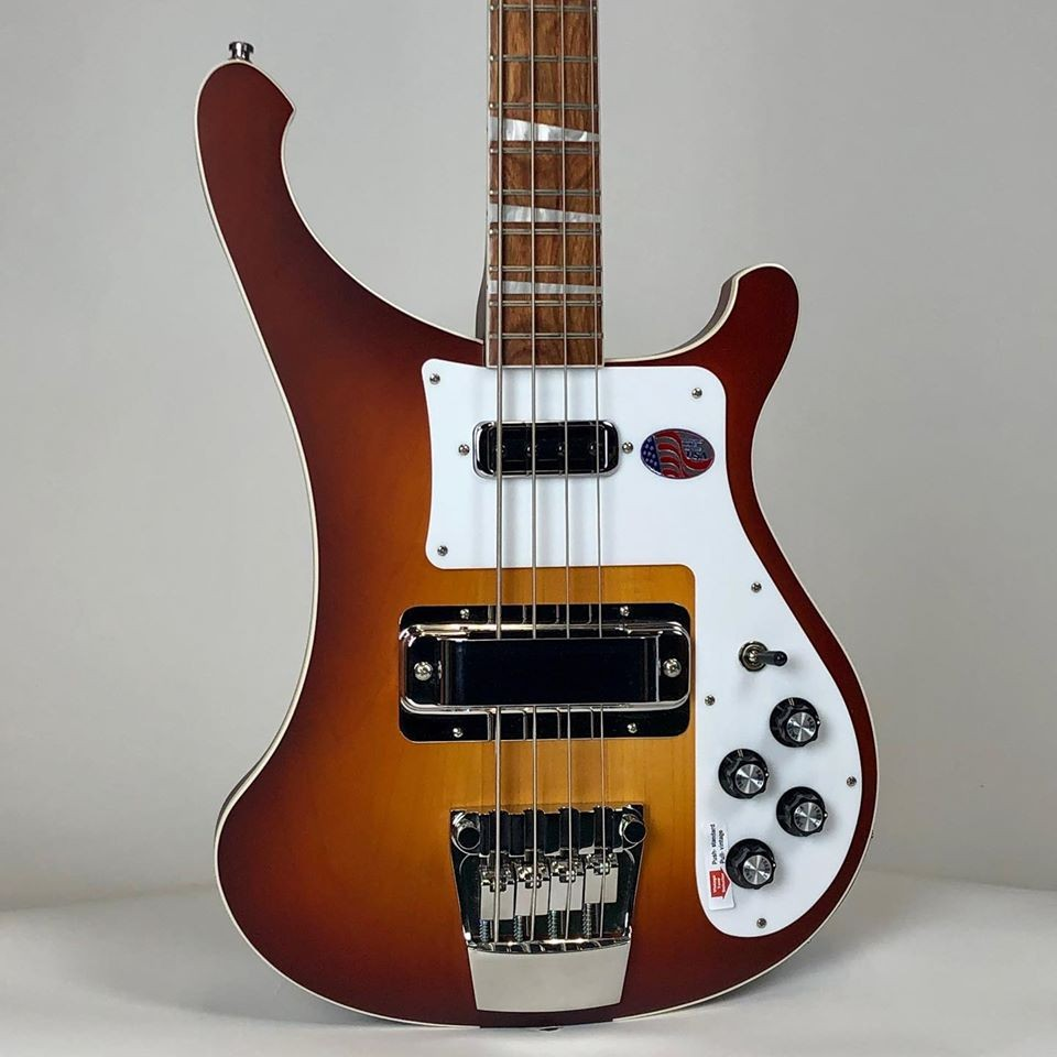 Rickenbacker 4003 Bass - Limited Edition Satin Autumnglo
