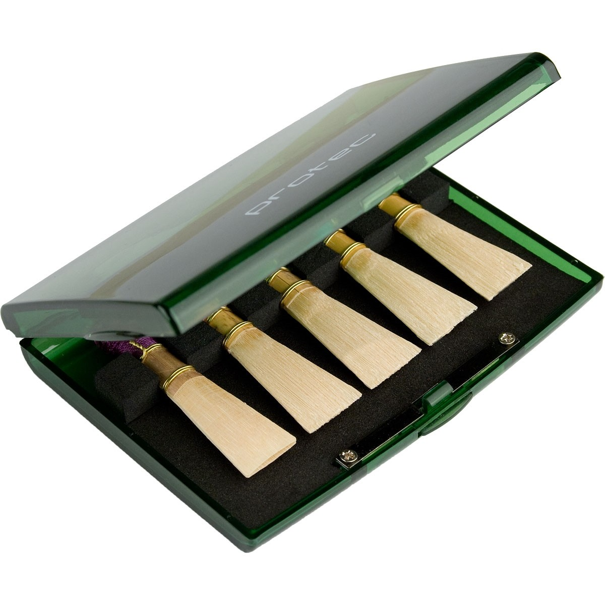 Protec Bassoon Reed Case (A253TL) - Trans Lime
