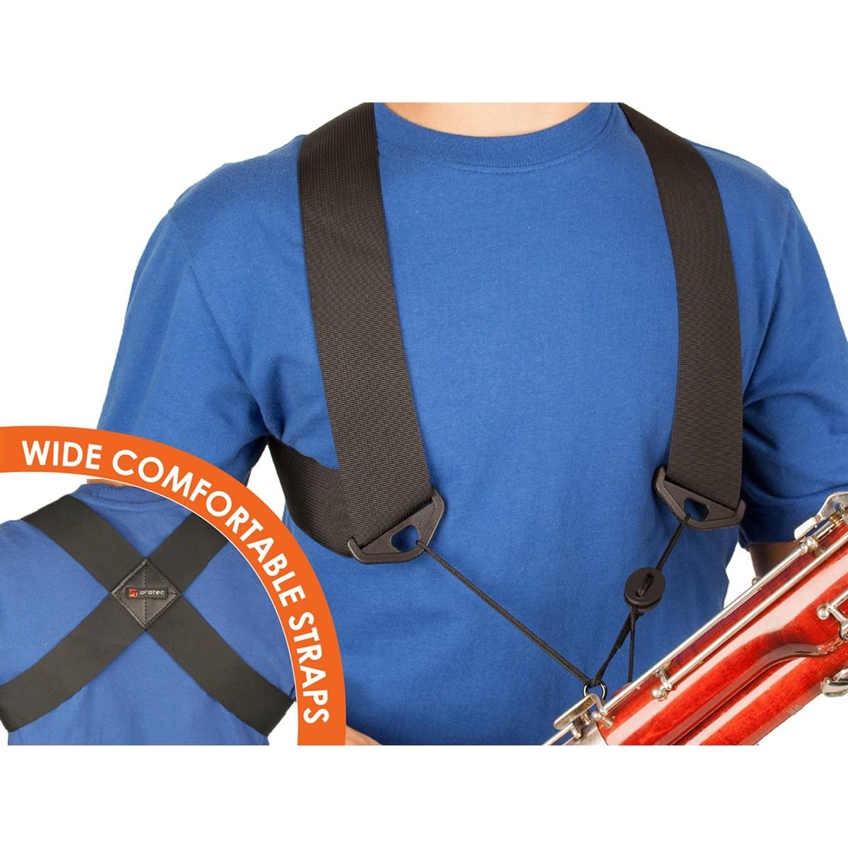 Protec Bassoon Nylon Harness (A301MED) - Medium Unisex