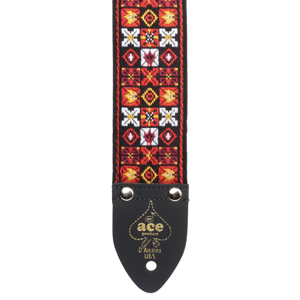 D'Andrea 2 Inch ACE Vintage Reissue Strap - X's & O's
