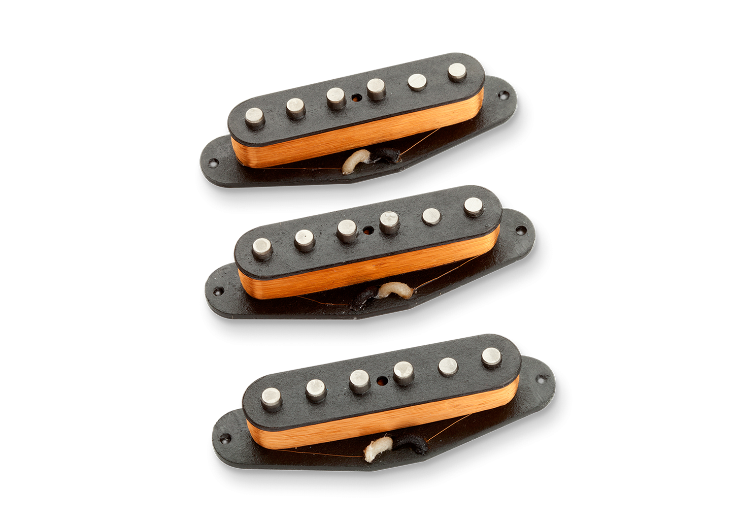 Seymour Duncan Alnico II Pro Staggered Strat APS-1S Calibrated Set