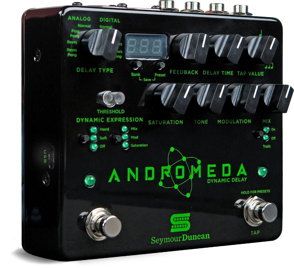 Seymour Duncan Andromeda Dynamic Digital Delay Pedal