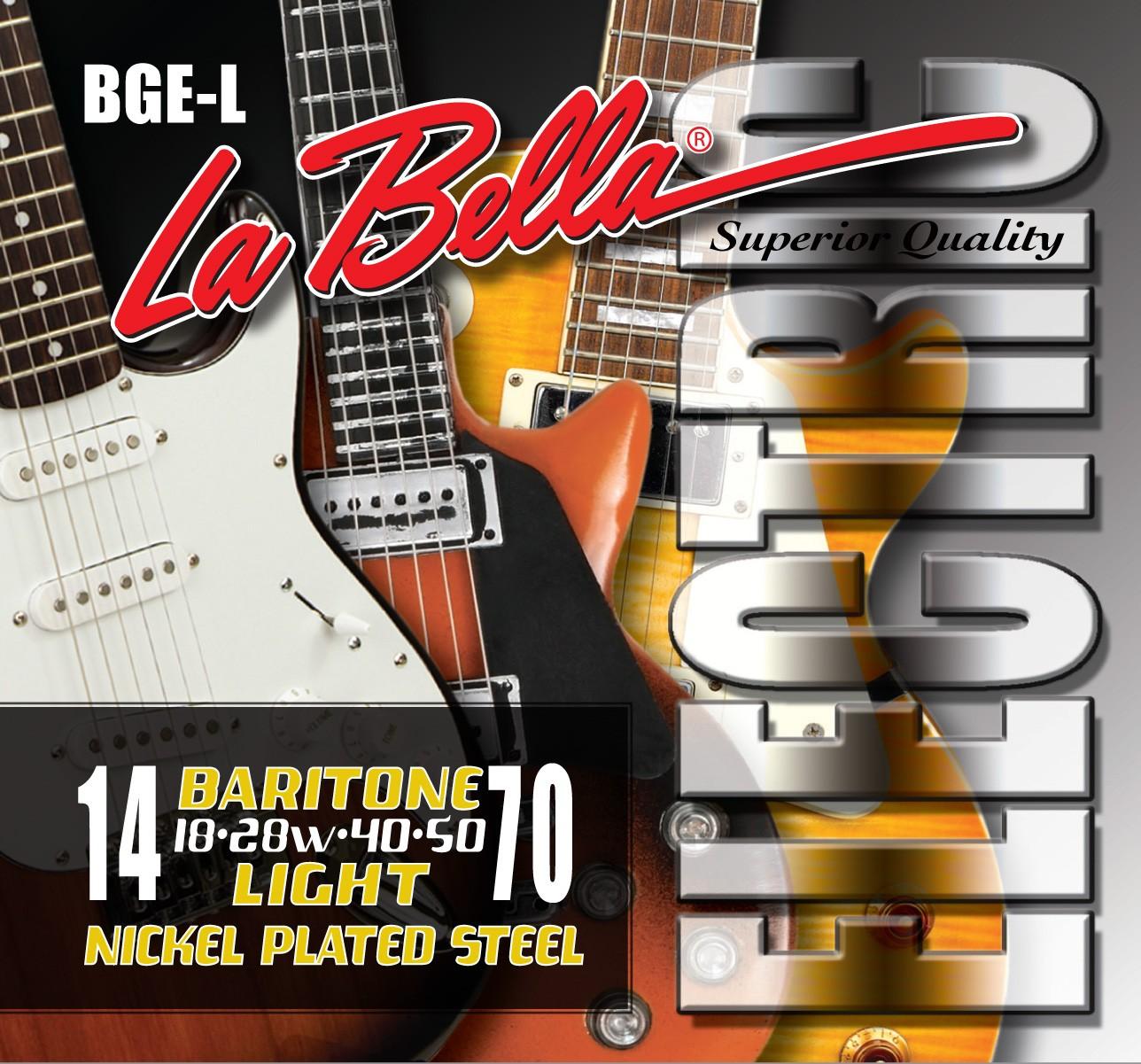 La Bella Electric Guitar Strings - Baritone Series