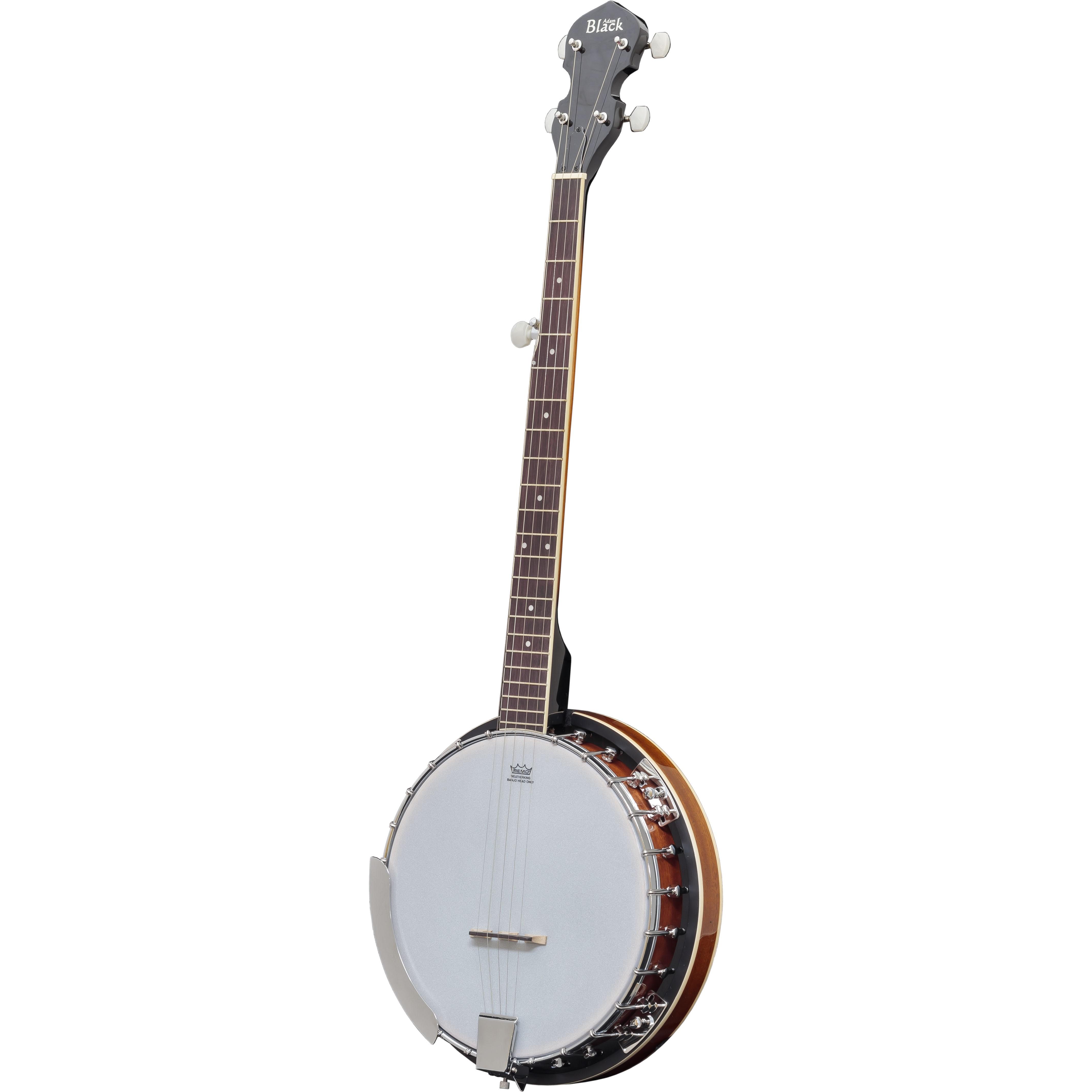 Adam Black BJ-02 5-String Banjo with Gigbag - Vintage Sunburst