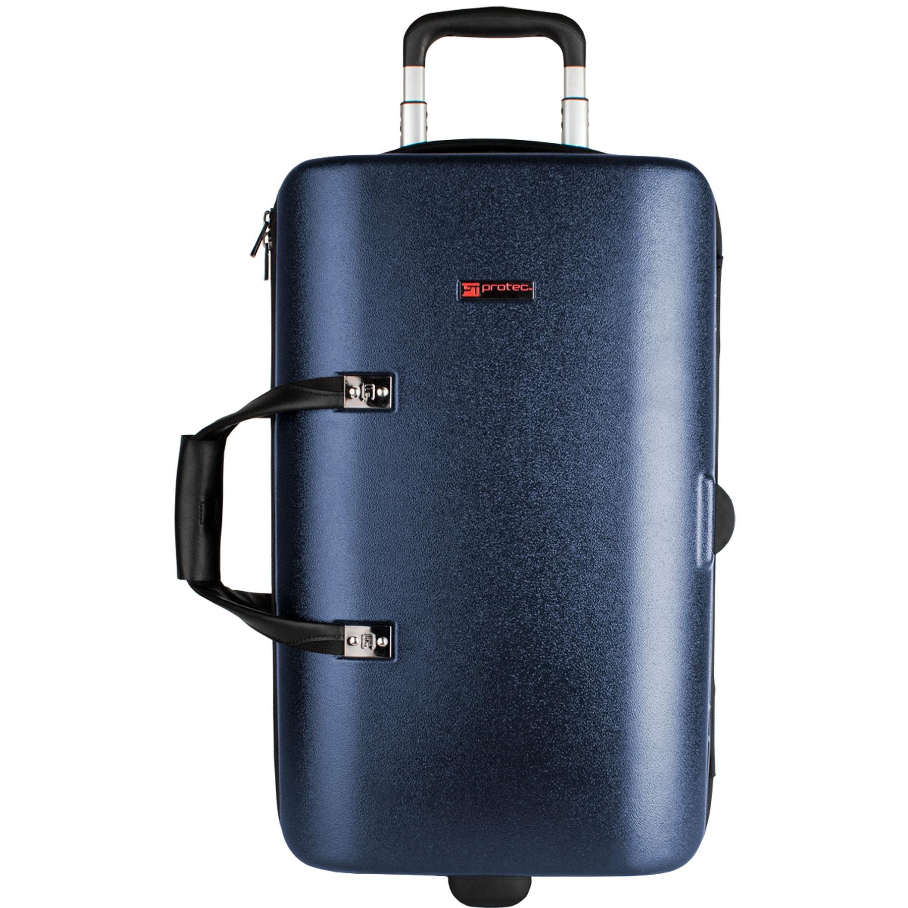 Protec Single / Double / Triple Horn ZIP Case (Blue BLT301TBX)