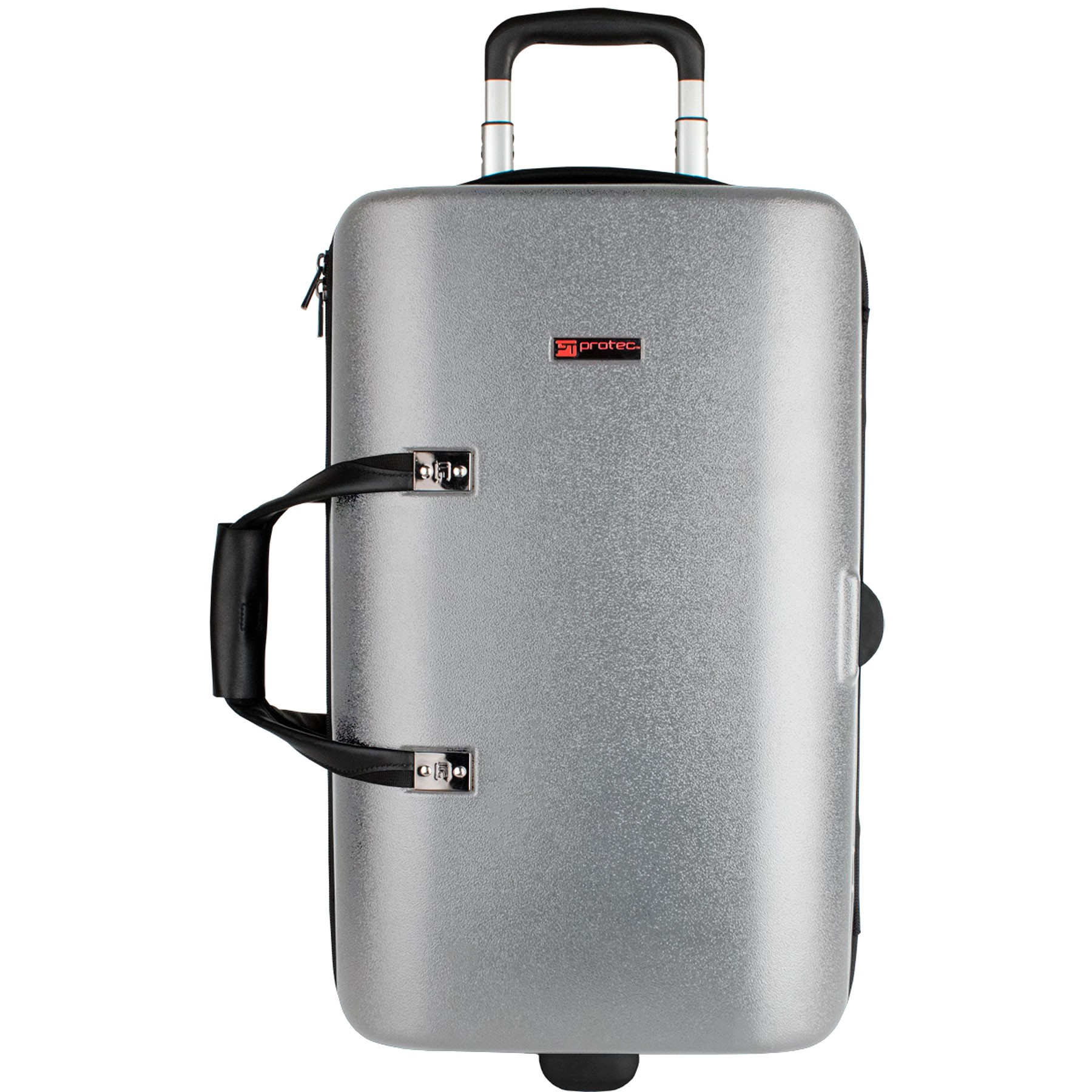Protec Single / Double / Triple Horn ZIP Case (Silver BLT301TSX)
