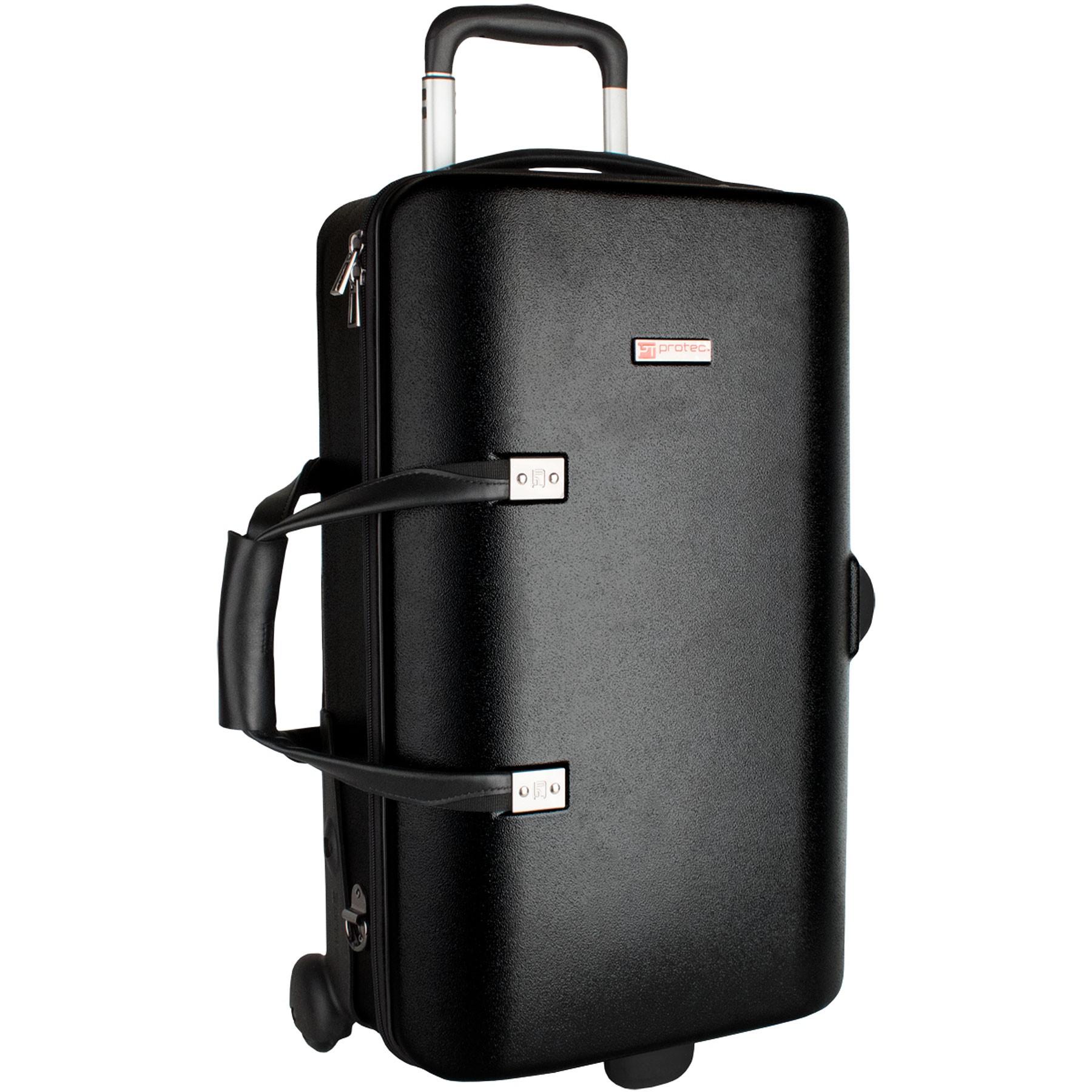 Protec Single / Double / Triple Horn ZIP Case (Black BLT301T)