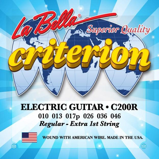 La Bella Electric Guitar Strings - Criterion Series