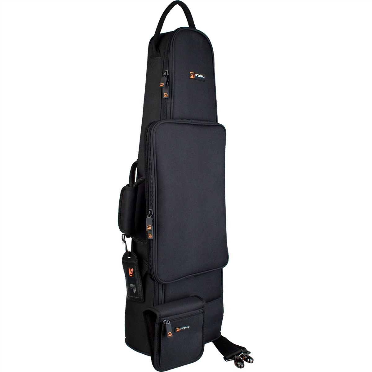 Protec Straight Soprano Sax/Clarinet/Flute Combination Bag - Gold Series (C250)
