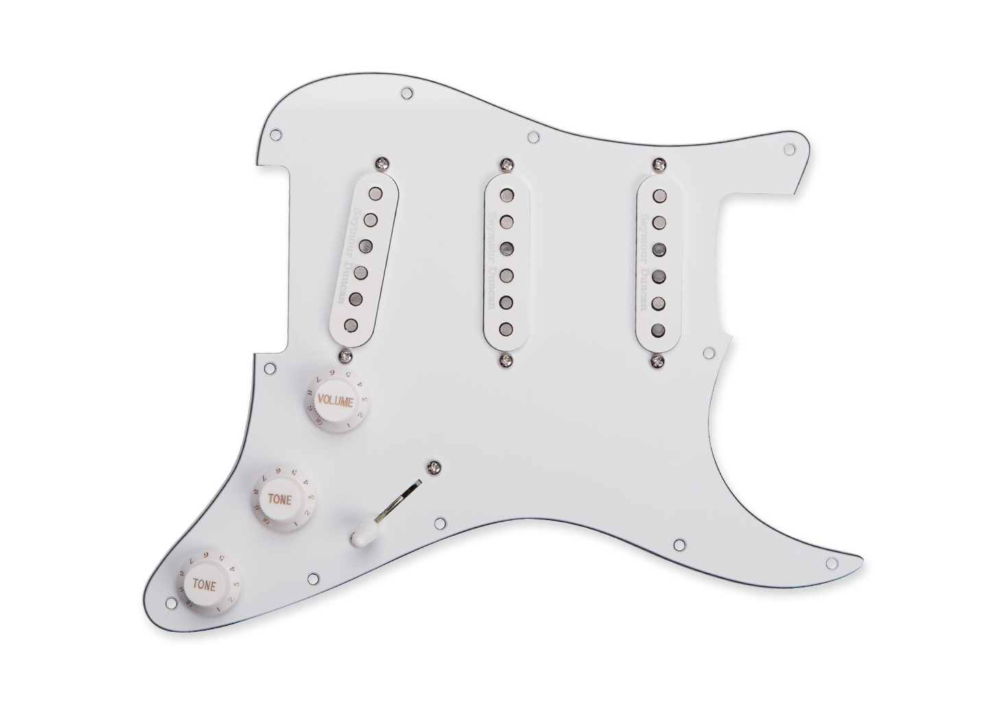 Seymour Duncan California 50's Loaded Pickguard - White