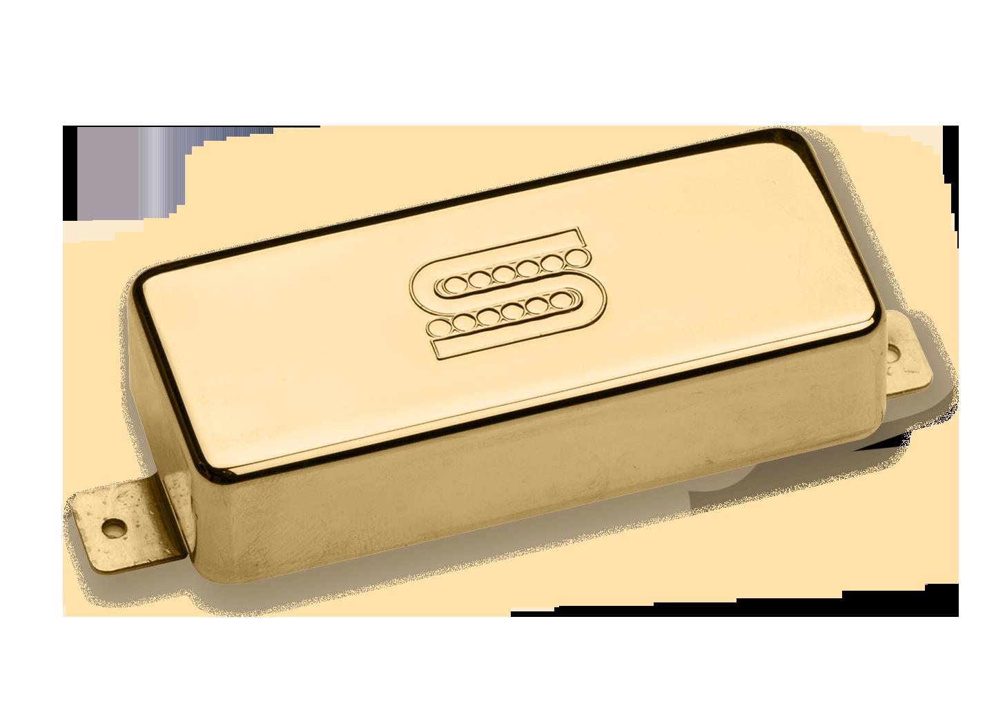 Seymour Duncan Seymourized Mini Humbucker SM-3N - Neck Gold