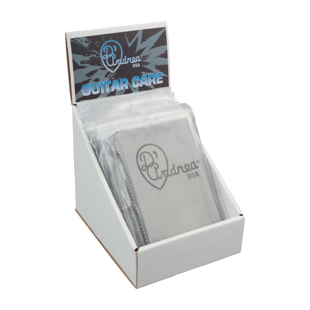 D'Andrea Microfibre Polish Cloth - Display Pack of 12