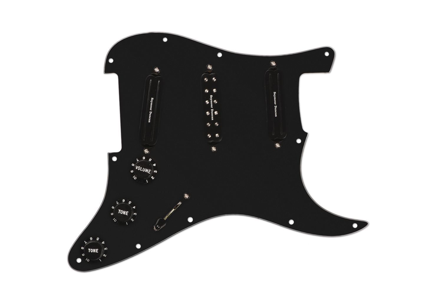Seymour Duncan Dave Murray Loaded Pickguard - Black