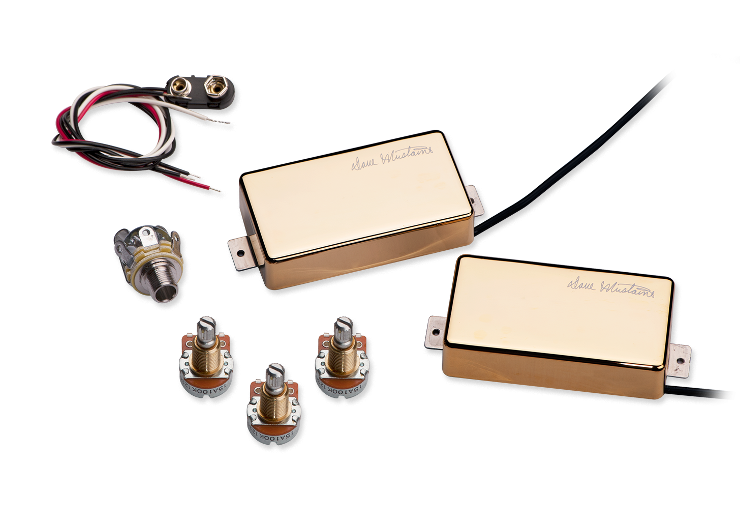 Seymour Duncan Dave Mustaine LiveWires LW-MUST Set - Gold
