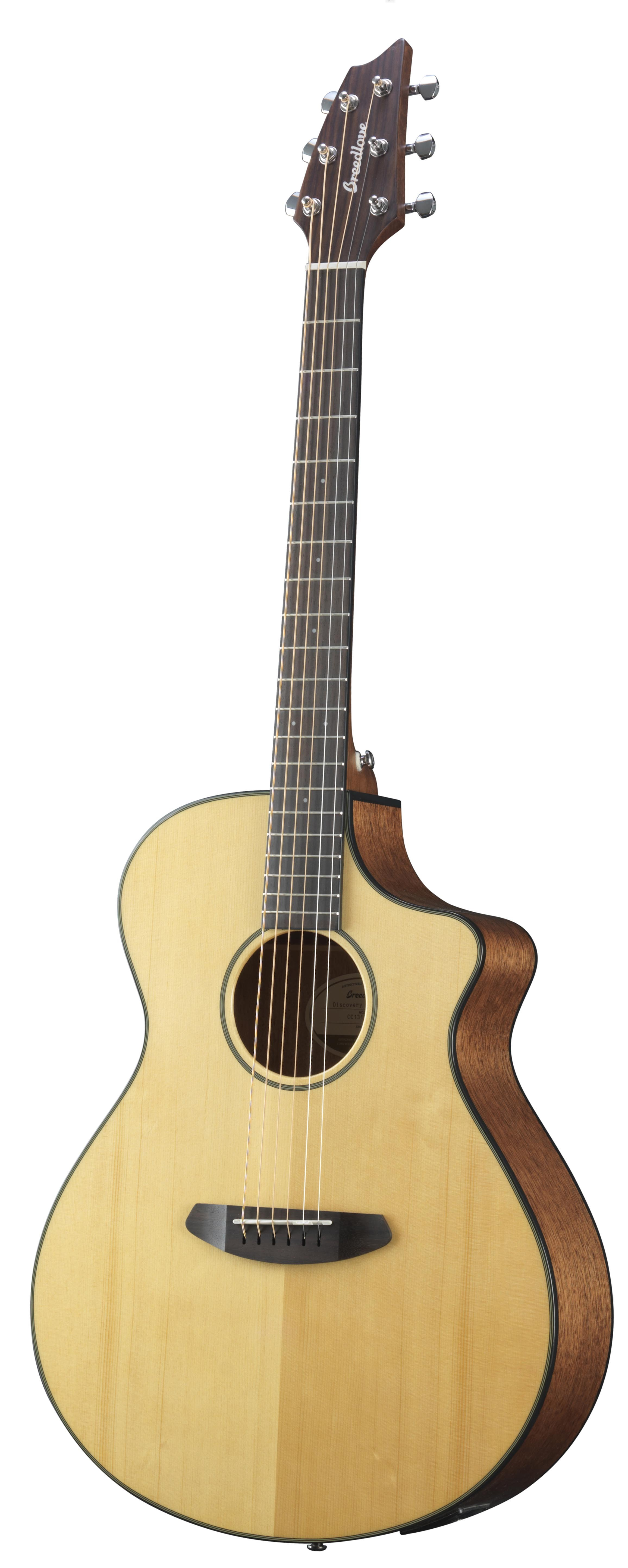 Breedlove Discovery Concert CE - Sitka Spruce/Mahogany
