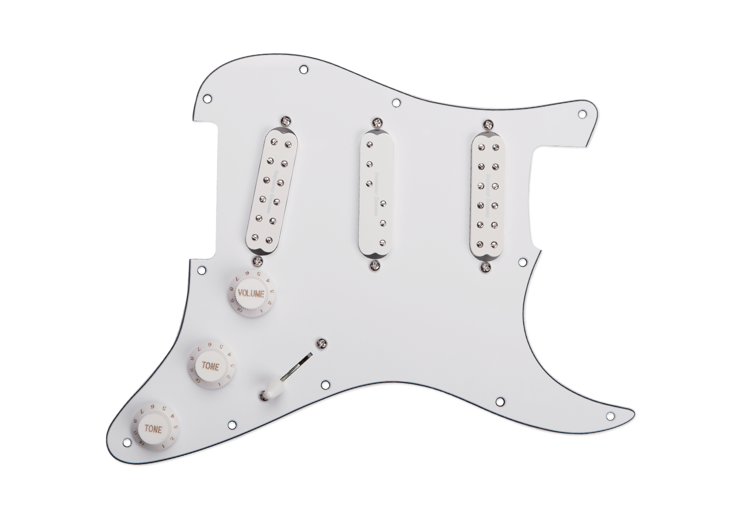 Seymour Duncan Everything Axe Loaded Pickguard
