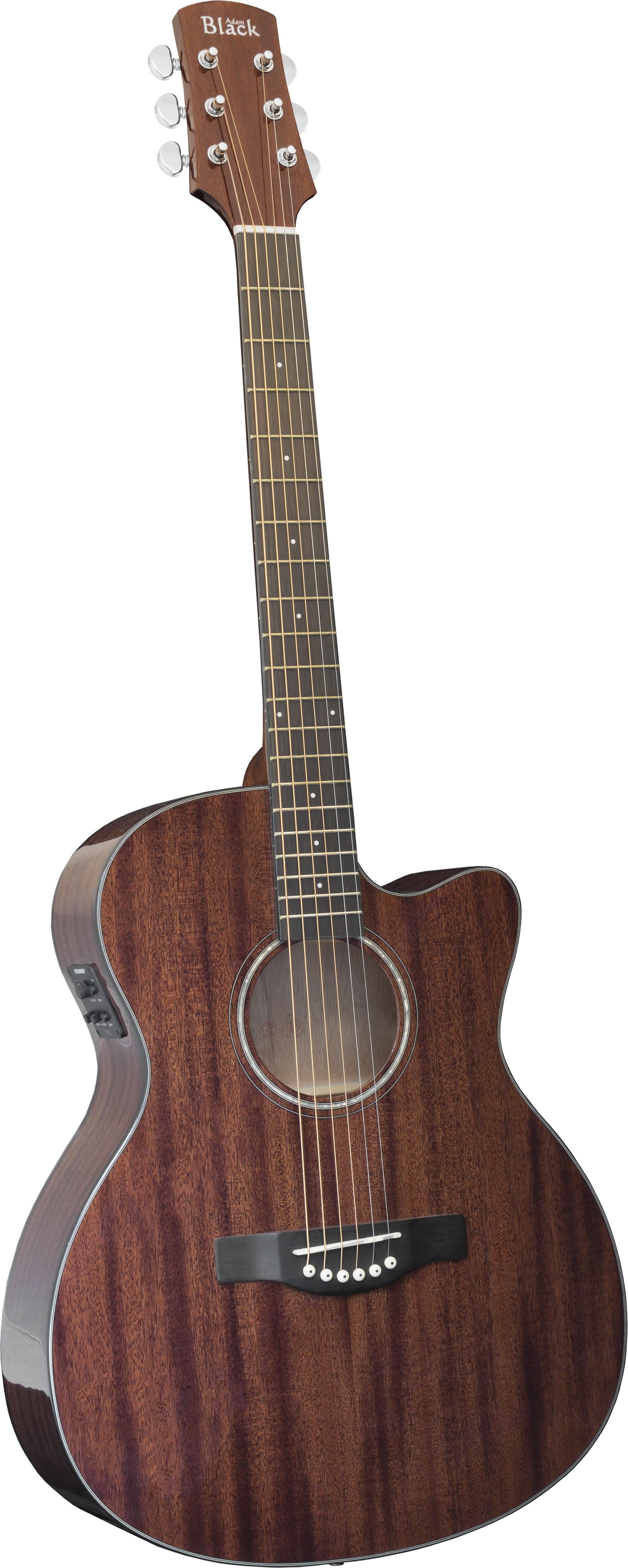 Adam Black O-4M CE- Natural with Gigbag