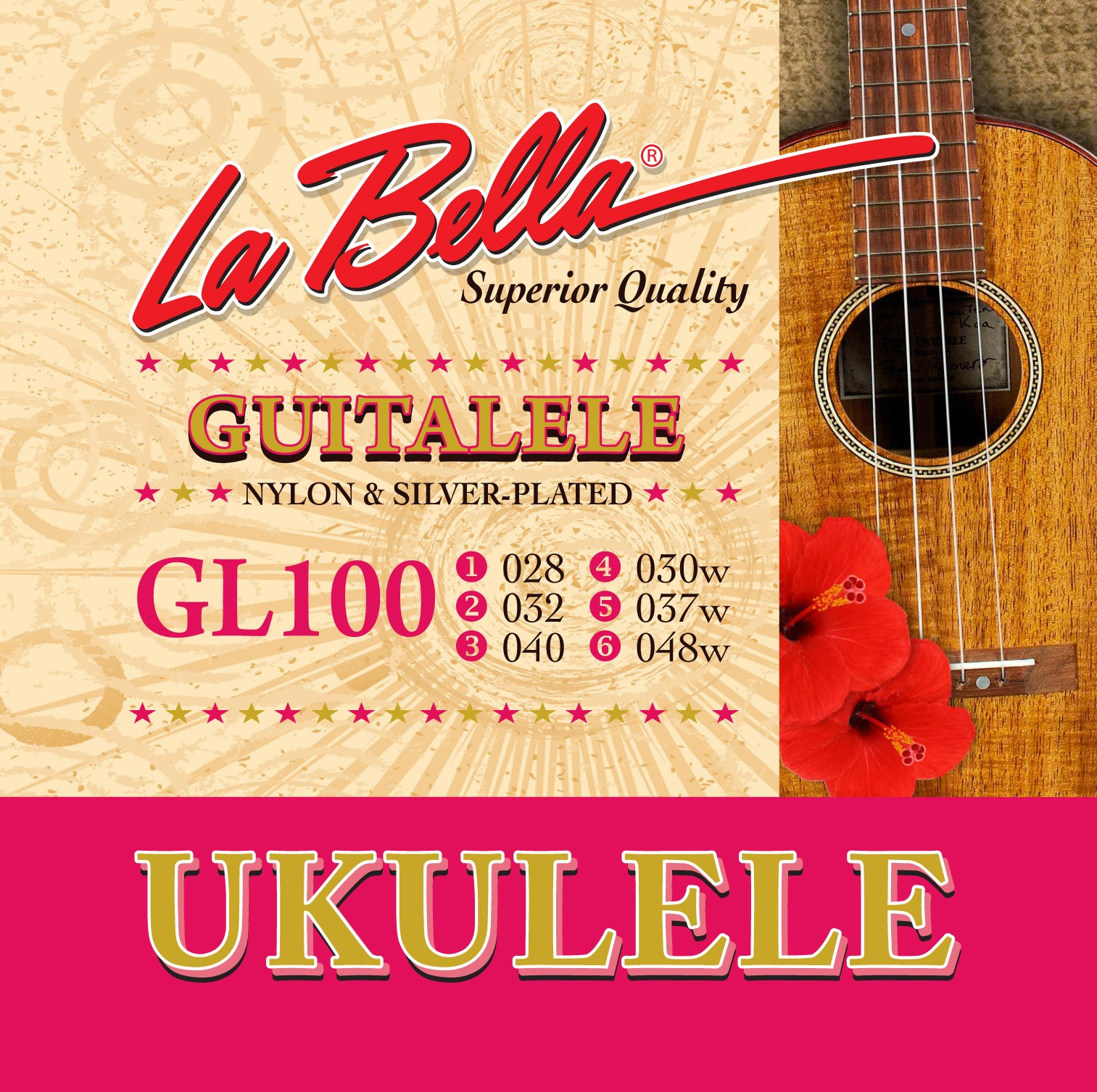 La Bella Guitalele Strings