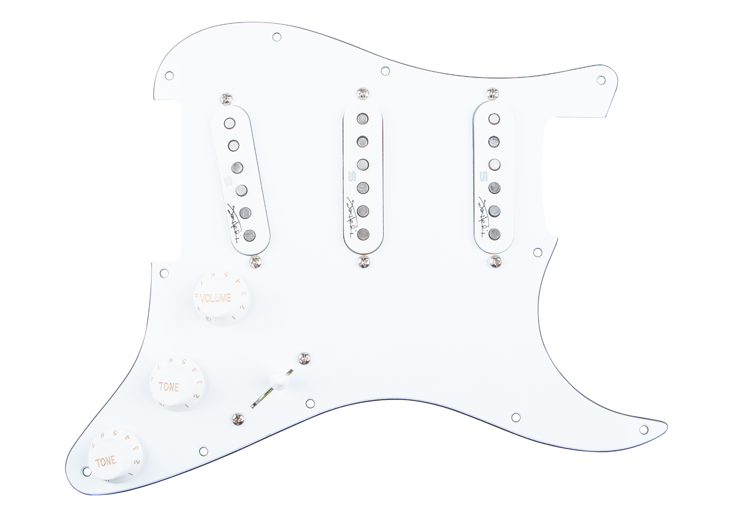 Seymour Duncan Jimi Hendrix Signature Loaded Pickguard - Voodoo Route